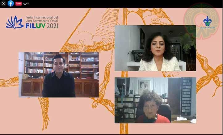 Lino Daniel, Marina Cuéllar y Margo Glantz