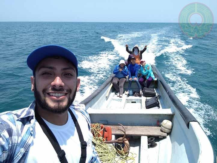 Desarrolló su trabajo de campo  en la región de Alvarado, Veracruz