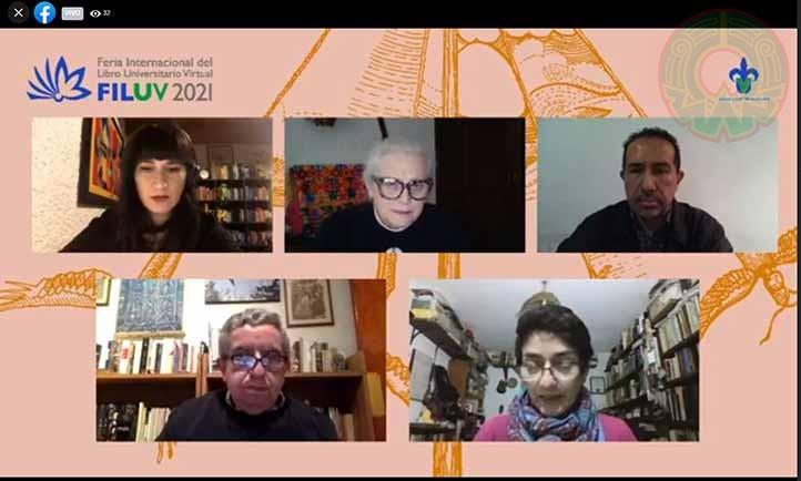 Las autoras participaron en la primera presentación editorial de la FILU 2021
