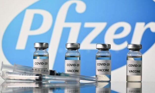 Pfizer estudia posibilidad de aplicar tres dosis de su vacuna contra COVID-19 ante nuevas cepas