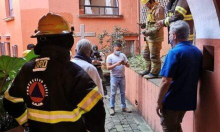 Causa alarma fuga de gas en el fraccionamiento Rubí Ánimas en Xalapa
