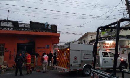 Se registra incendio en el centro de Papantla!