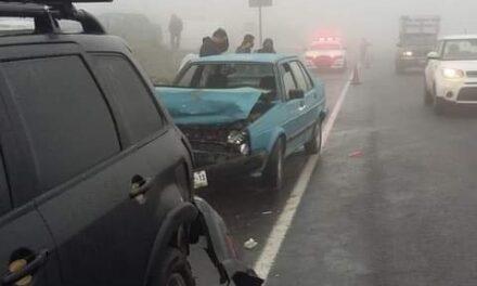 Accidente en la carretera Xalapa – Perote, a la altura de Acajete