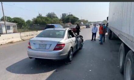 Accidente en la autopista Xalapa – Veracruz, a la altura de Tamarindo