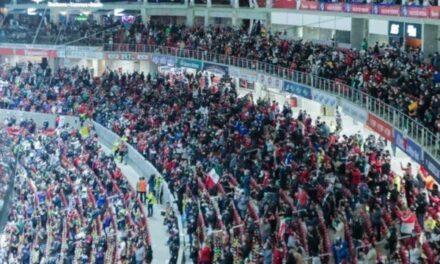 Pese a la pandemia, abarrotan estadio para la Serie del Caribe en Mazatlán
