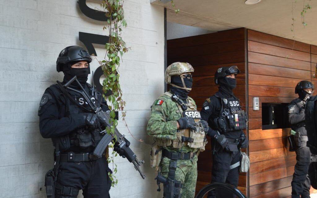 Decomisa SSC 60 Kilos De Cocaína En La Colonia Narvarte de la CDMX