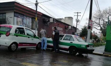 Choquen sobre la avenida Américas esquina Obispo, Xalapa