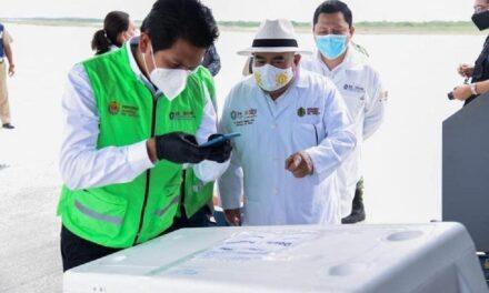Llegan vacunas anticovid a Veracruz; iniciarán aplicación en zonas rurales