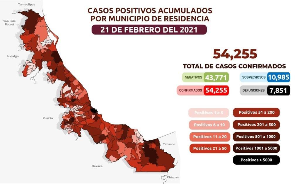 En las últimas 24 horas, la entidad suma 50 nuevos casos positivos y 7 muertes por coronavirus.