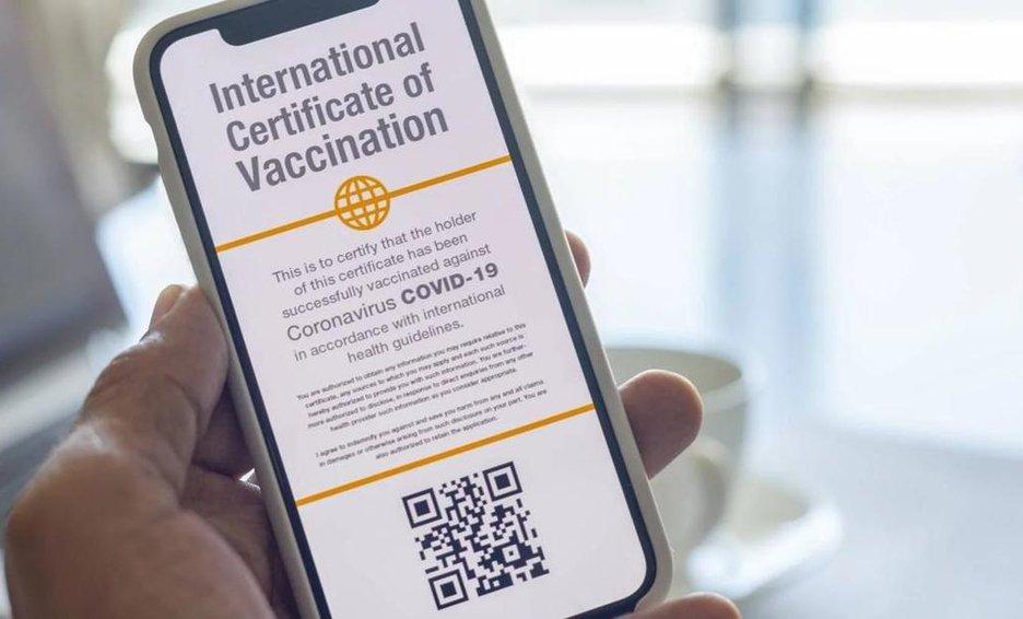Certificados digitales de vacunación ayudarán al turismo