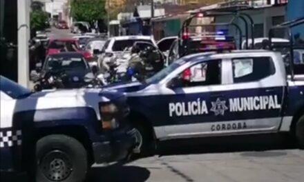 Enfrentamiento entre presuntos delincuentes y elementos de la Policía Ministerial en Córdoba