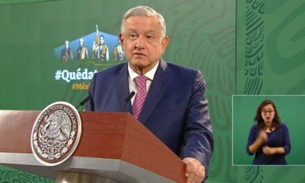 López Obrador reaparece en las mañaneras, tras recuperarse de Covid-19