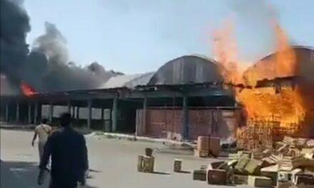 Video Última Hora: Se registra incendio en la Central de Abastos de Tultitlán, servicios de emergencia en el lugar