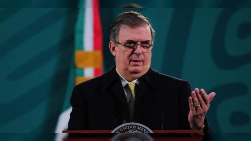 Anuncia Marcelo Ebrard llegada de 2.3 millones de vacunas contra el Covid-19 antes del 3 de abril