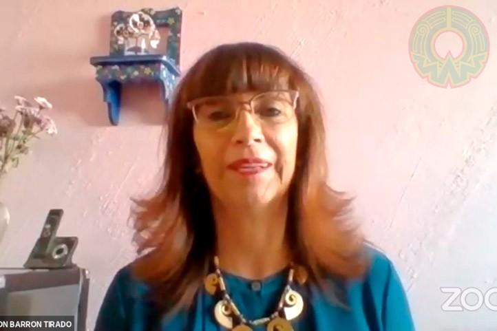 María Concepción Barrón, investigadora de la UNAM