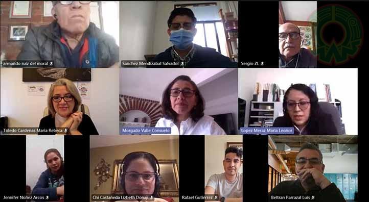 Consuelo Morgado Valle, investigadora del Iice, ofreció una conferencia sobre los trastornos de ansiedad en época de pandemia