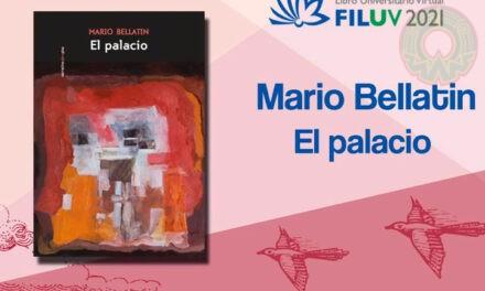 El palacio forma parte de un libro infinito: Mario Bellatin