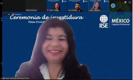 Académica UV, miembro de la Mesa Directiva del Capítulo Profesional IISE-México