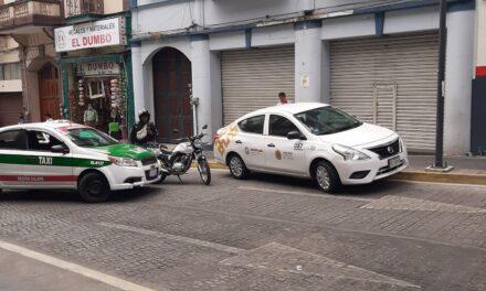 Accidente de tránsito en calle Revolución, Xalapa