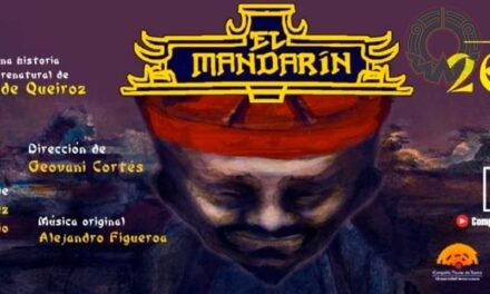 Compañía Titular de Teatro presenta El Mandarín