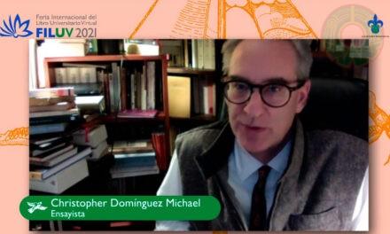 Ensayos reunidos. 1984-1998, de Domínguez Michael, se presentó en la FILU Virtual 2021