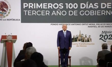 López Obrador agradeció a las fuerzas armadas mexicanas por su constante labor que hacen en México