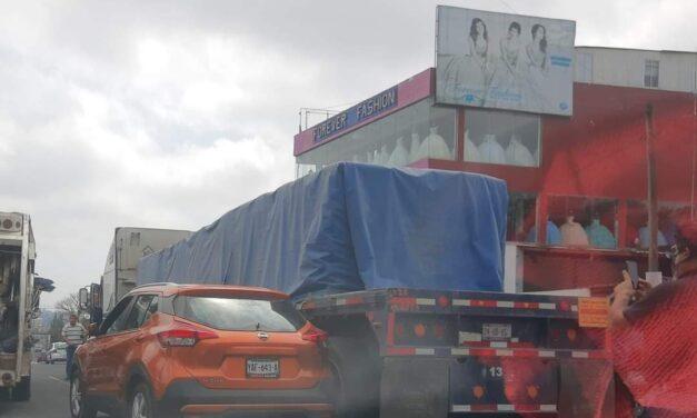 Accidente de tránsito sobre el Bulevar Xalapa-Banderilla