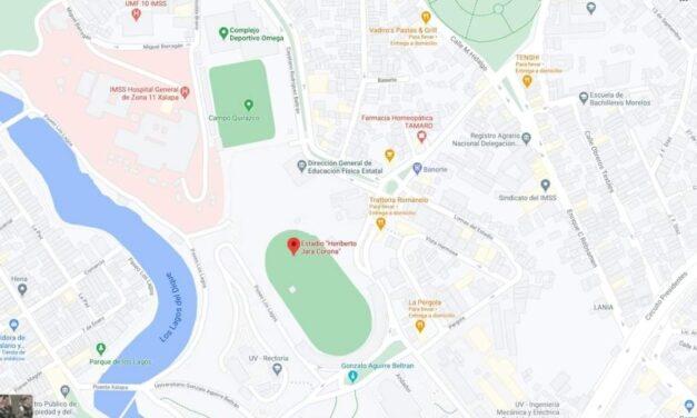 Colonias que le corresponde centro de vacunación en el Estadio Xalapeño