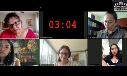 Entrevistan diputadas a aspirantes al Consejo Estatal Ciudadano