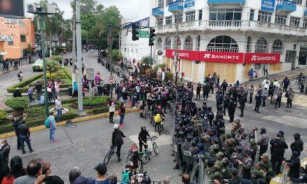 La noche de este lunes en Xalapa 5 nuevos casos positivos de covid-19