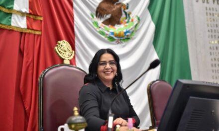 Destaca diputada la participación de la mujer en la vida política de Veracruz