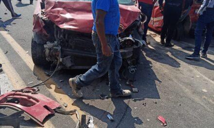 Fuerte accidente en la carretera Perote – Xalapa