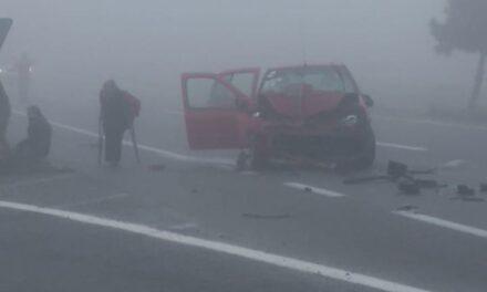 Precaución accidente en la carretera Xalapa – Perote