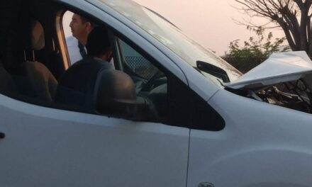 Se registra Carambola en la carretera Veracruz – Xalapa, a la altura de Corral Falso