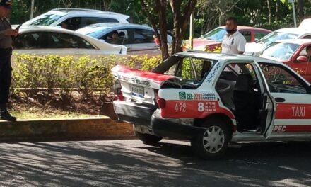 Accidente de tránsito sobre Circuito Presidentes, a la altura de la Usbi