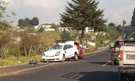 Accidente en la carretera Xalapa-Perote