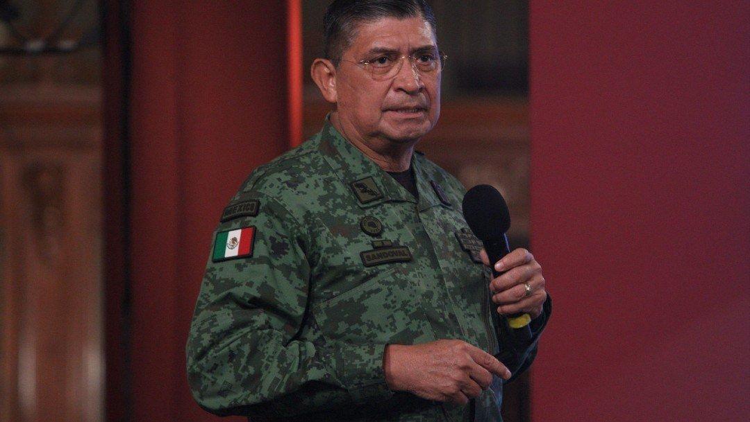 Luis Cresencio Sandoval, titular de Sedena, da nuevamente positivo a COVID-19