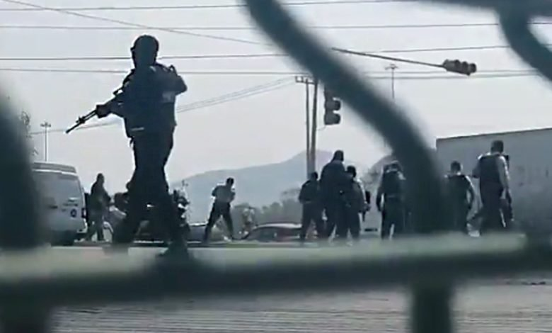 (Video) Se registra balacera en Tecámac, Estado de México