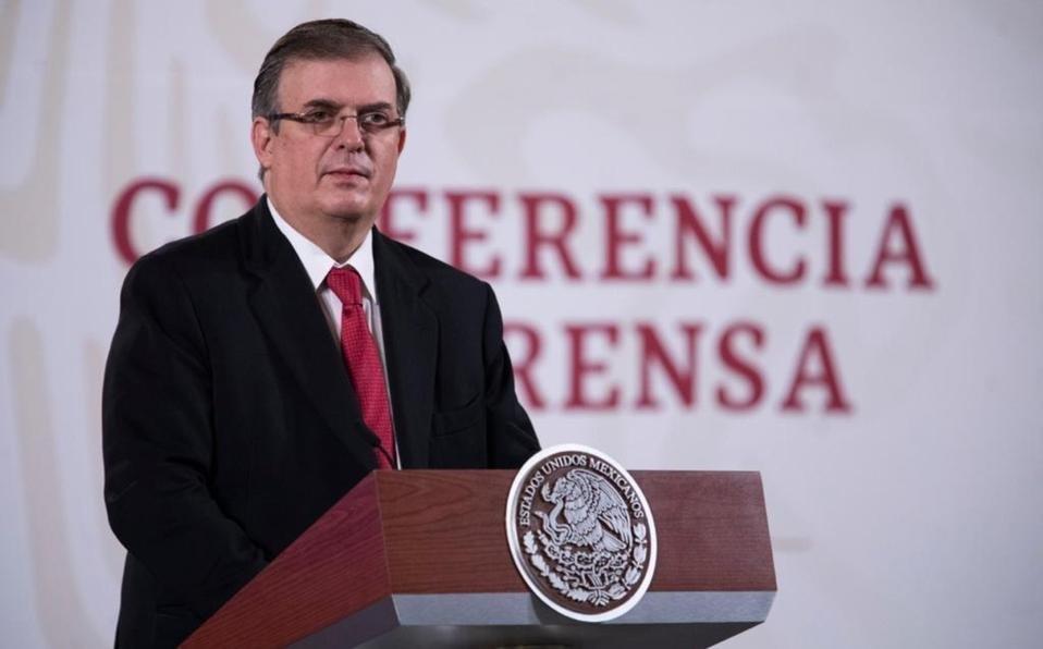 México alista nuevo planteamiento de seguridad a Estados Unidos: Ebrard