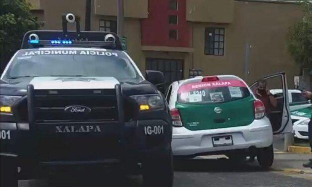 Accidente de tránsito sobre la avenida Orizaba, Xalapa
