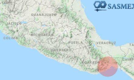 Se registra sismo con magnitud de 5.0 grados en Chiapas; no hay daños