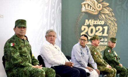 Inauguración de instalaciones de la Guardia Nacional en Tequila, Jalisco