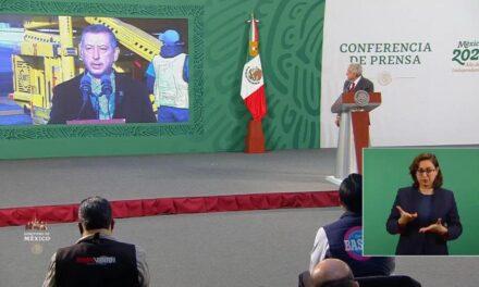 Llegan a México medio millón de vacunas Sputnik V; garantizan ventajas contra nuevas cepas