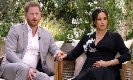 El Príncipe Harry y Meghan Markle hablaron con Oprah Winfrey.