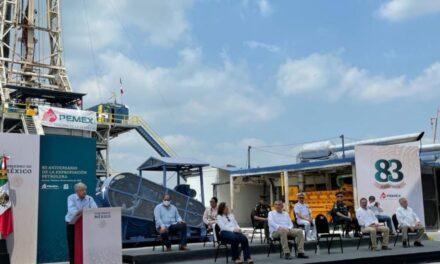 Descubre Pemex yacimiento de 600 millones de barriles en Tabasco Octavio Romero aseguró que incrementará el potencial de la zona