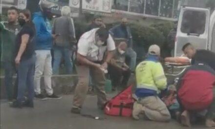 Persona atropellada en la avenida Lázaro Cárdenas, a la altura de Urban Center