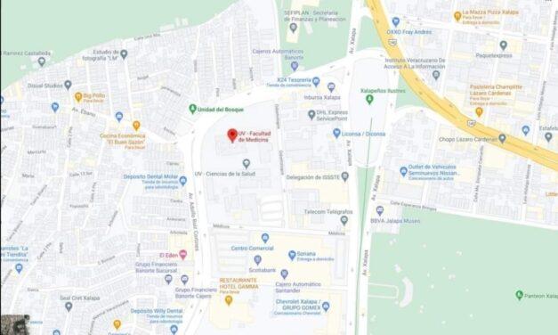 Colonias que les corresponde vacunación en la Unidad de Ciencias de la Salud de la UV (Facultad de Medicina), Médicos S/N, Unidad Bosque.