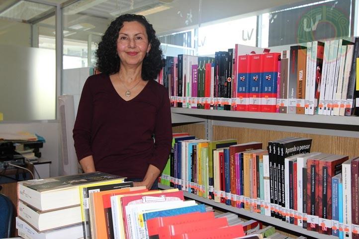 Olivia Jarvio Fernández, coordinadora de la Especialización de Promoción de la Lectura (foto de archivo)