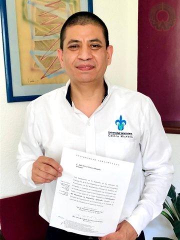 Julio César Tinoco Magaña es el nuevo coordinador del Doctorado en Ingeniería Aplicada del FICH