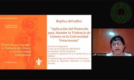 """UV impartió taller """"Aplicación del Protocolo de atención a la violencia de género"""""""